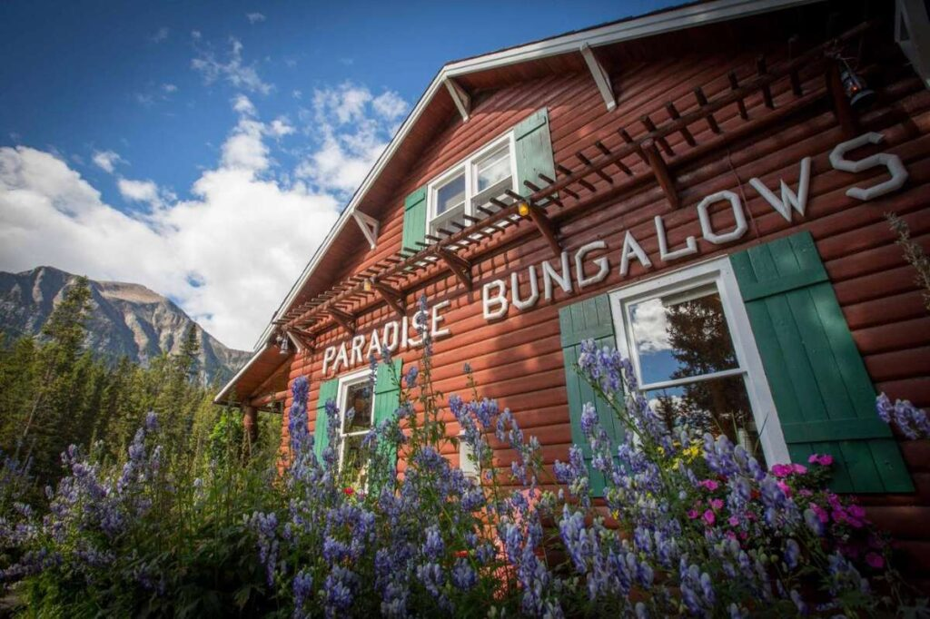 the Paradise Lodge are among the best accommodations in lake louise